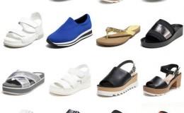 Daphne/达芙妮 拼款时尚女鞋劵后19.9元包邮